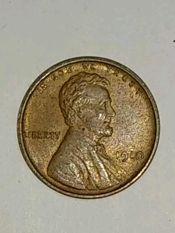 Sold 1910 P Lincoln 1c Wheat Penny In Clarksville Letgo