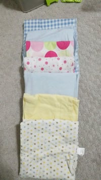 7 receiving  baby blankets  Surrey, V3W 3M7