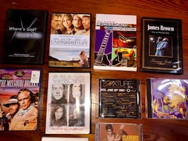 Various Movies and CDs