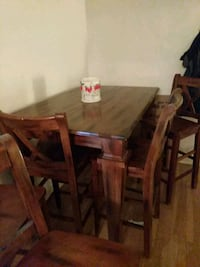 High top table, insert and 8 chairs Albuquerque, 87106