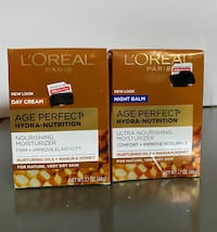 Loreal age perfect day and night face cream