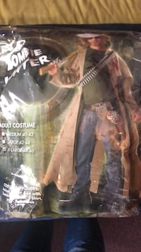 zombie  hunter halloween costume New York, 11216