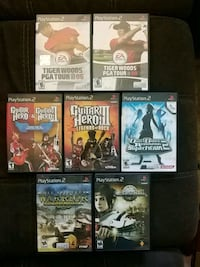 6 assorted PS2 games Kitchener, N2E 2K2