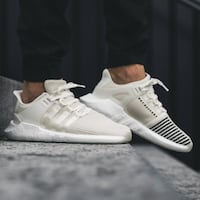 pair of white Adidas NMD Falls Church, 22041