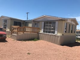 Manufactured home with land For rent 2BR 2BA