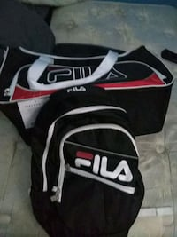 Fila set duffle and book bag Bridgeport, 06610