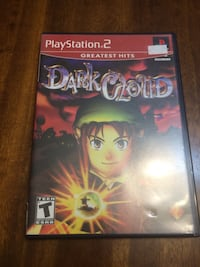 Dark Cloud (Greatest hits) for PS2 North Vancouver, V7P 1S3