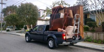 Pick up Truck Car Delivery Hauling Helper Moving