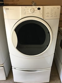 Nice Kenmore elite front load electric dryer