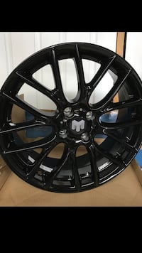 "17"" 4x100 Blk rims set civic Mini Cooper"