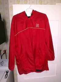 red and white Nike zip-up jacket Lincoln, 68521