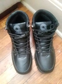 pair of black leather work boots North Little Rock, 72118