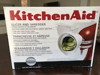KitchenAid stand mixer attachment, slicer and shredder attachment Caledon, L7C 4A2