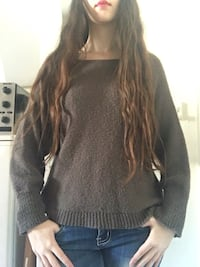 Brown knitted shirt S/M Xanthi, 67100