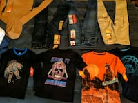 kids clothes. Boys size 7. Girls sizes 5 and 6. Dover