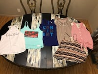 Ladies size small tank lot! Good Used Condition! $12 for all 6 tanks!  Wichita, 67207