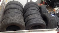 Nice Used Tires & Rims or Mags MONTREAL