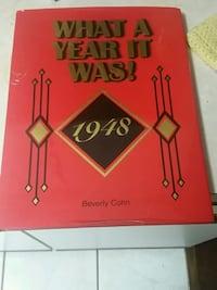 1948 What A Year It Was! by Beverly Cohn book Saint Augustine, 32086
