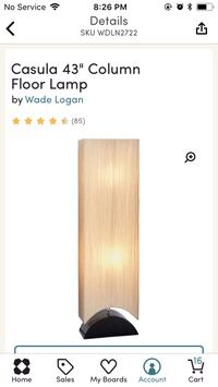 "43"" Floor Lamp Everett, 98203"