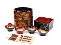 black and red cooking pot set Hickory Hills, 60457