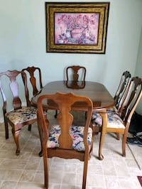 8 chair dining set 4 leaves