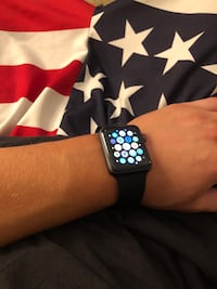 Black Apple Watch Series 2with black sports band Potomac, 20854