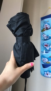 Soft touch surface handle umbrella