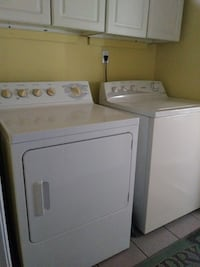 Hot Point washer and GE dryer