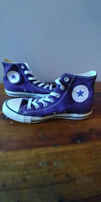Size 8 - Purple Converse All Star high-tops Tigard, 97223