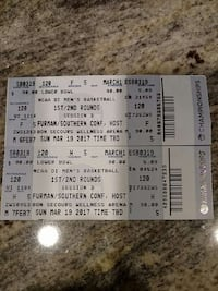 two ncca di men's basketball tickets