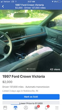 Ford - Crown Victoria - 1997 Fishers