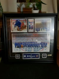 Framed 2014 Winter Classic Ticket/Team Picture Toronto, M6M 1X1