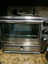 stainless steel toaster oven; black toaster oven Brampton, L6X 0Y3