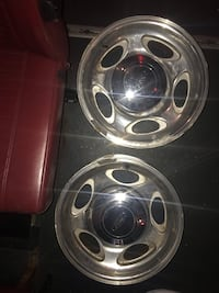 4 Aluminum 5 stars with 2 ford caps.. rims just need to be polish  New York, 11234