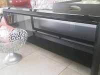black and gray TV stand Palm Springs, 92264