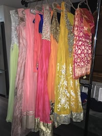 Designer Indian outfits (contact for pricing) Toronto, M6G