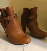 Sporty Casual Caramel Ankle Boots -8.5 All Season Annapolis, 21401