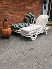Loungers with cushions 25 each Tillsonburg, N4G 2S6