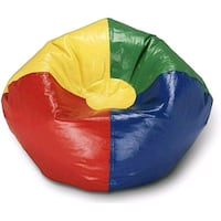 "Ace Bayou Multi Primary Matte Vinyl Bean Bag, 98"" Houston, 77045"
