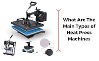 Heat Press Machine NEW for T-shirt Stamp Designs Aigaleo