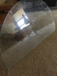 Glass for table  or for tv stand string sturdy no breaks asking 36.   Reduced -$10.  25.  El Paso, 79936