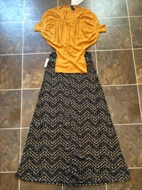 Go for the Gold Top w/ Skirt Pine Prairie, 70586