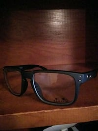 black framed Oakley  glasses no prescription Knoxville