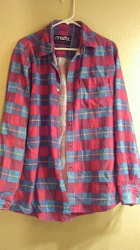 red and blue checked sports shirt Perris, 92570