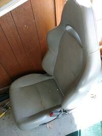 Free leather car seat