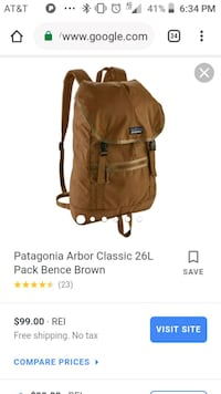 PATAGONIA DAY PACK BACKPACK LIKE NEW Anchorage, 99577