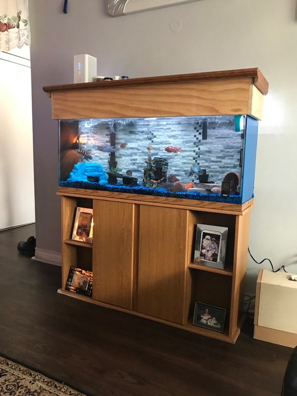 55 gallon comes with everything