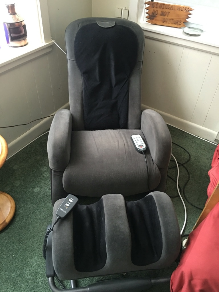 ijoy massage chair and foot massager