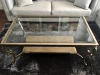 Coffee table and hutch