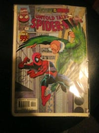 Spiderman Comic book